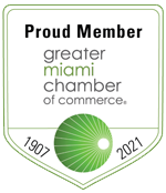 proud member of the greater miami chamber of commerce